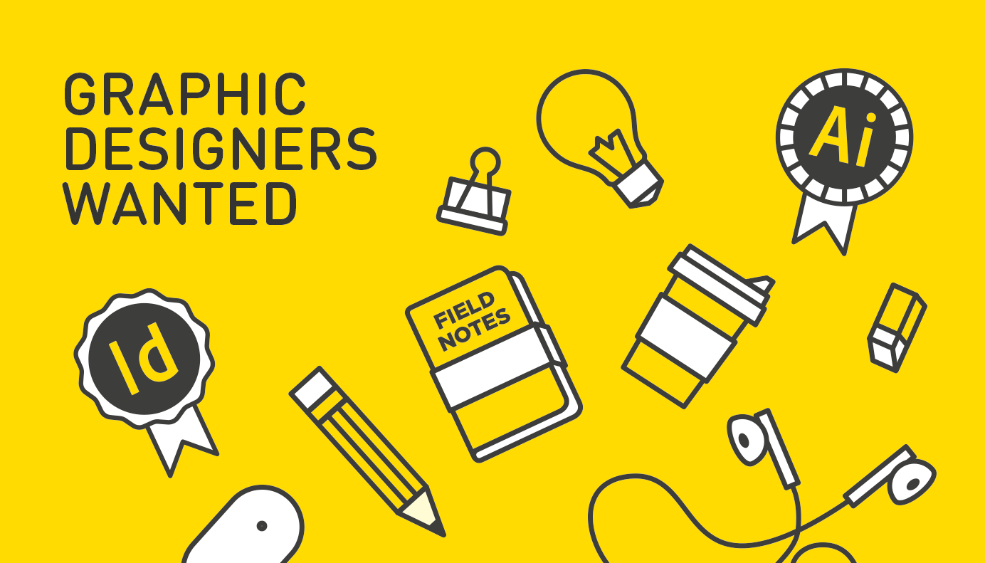 Graphic Designers Wanted Fluid